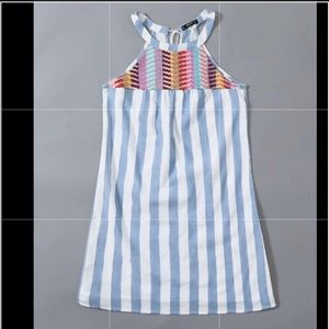 Forever 21 halter dress embroidered- size S NWOT